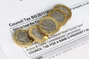 council tax and utlities walsall letting agent