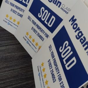 Needed some additional signs as the ones we have are all in use! £399 to sell yo...